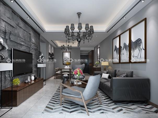重庆乐尚装饰 3种常见的吊顶安装方法,客厅吊顶精美效果图