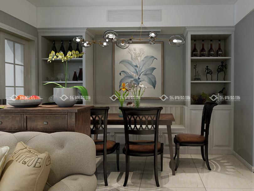 设计说明:本案例是现代轻 奢的风格,摒弃传统的奢华风格,回归生活本真,家居空间给人时尚简约、气质优雅且不失温馨舒适的感觉。既能展示别墅本身的空间感,又不会过于浮夸。 平面布置图  客厅空间 客厅简洁明朗,以灰白和浅色为主。无处不在的几何元素装饰着客厅的每一处空间,米色的布艺沙发与镜面的电视柜相得益彰。