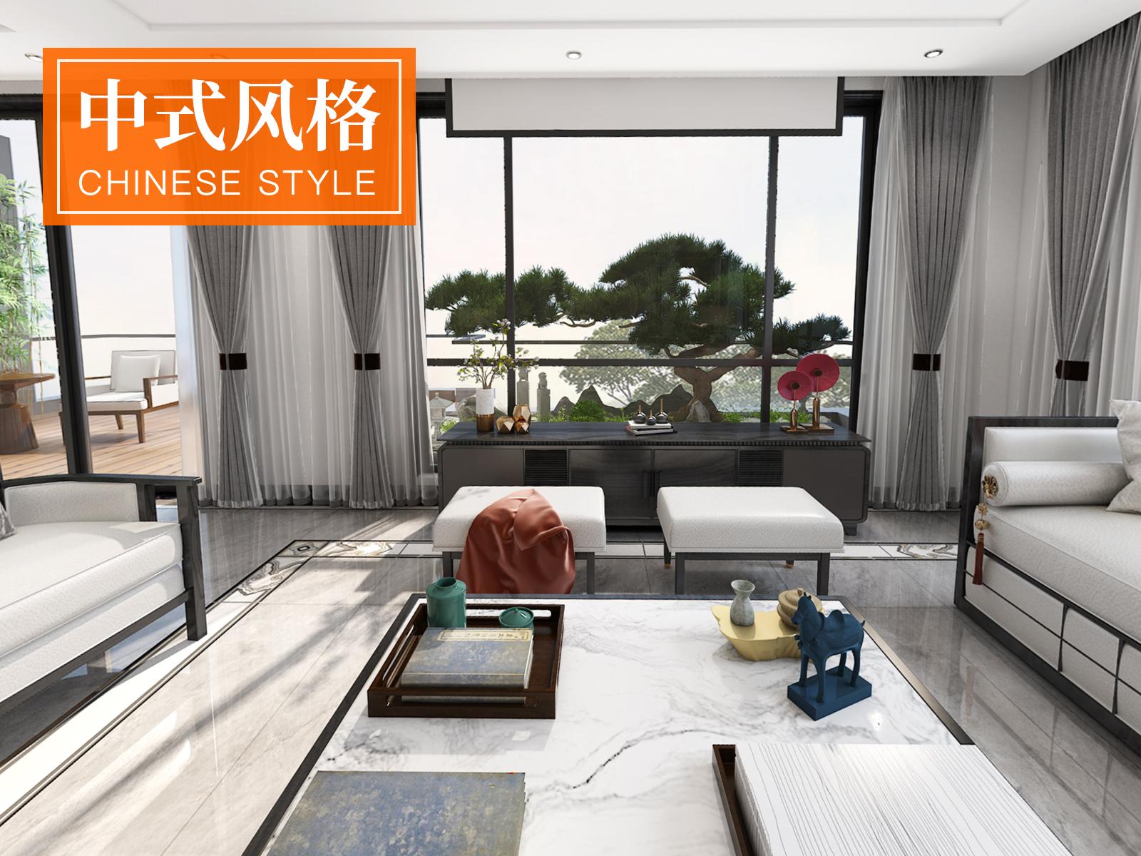 【乐尚原创设计】铂悦澜庭300平米现代风格